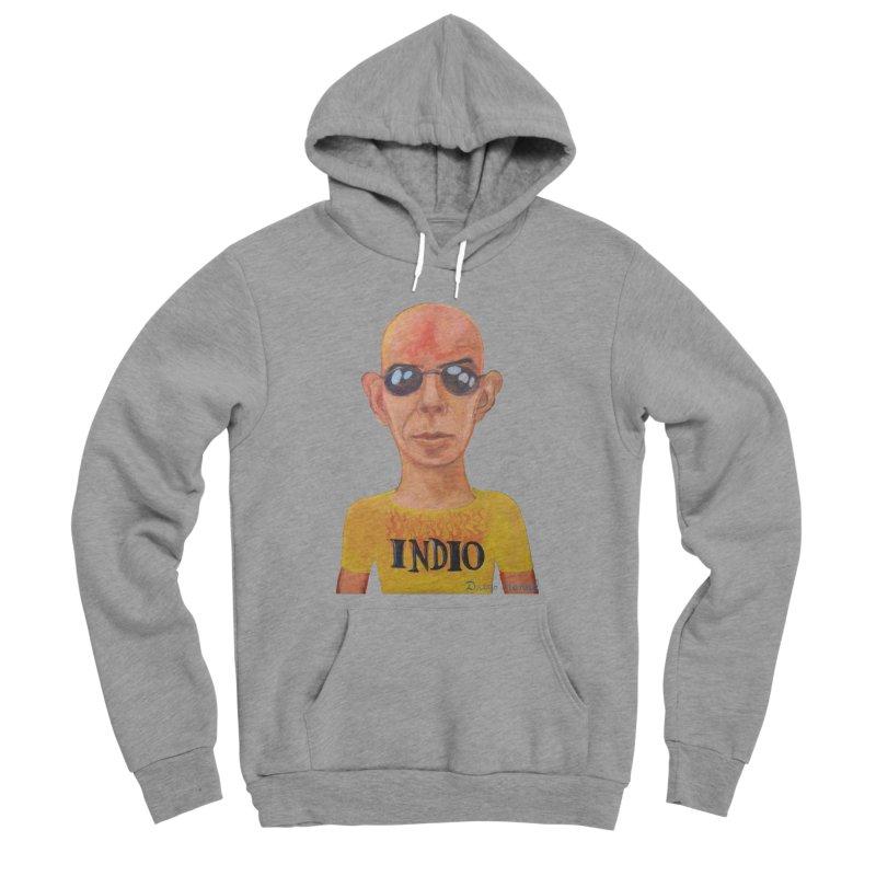 Indio rockstar Women's Sponge Fleece Pullover Hoody by diegomanuel's Artist Shop