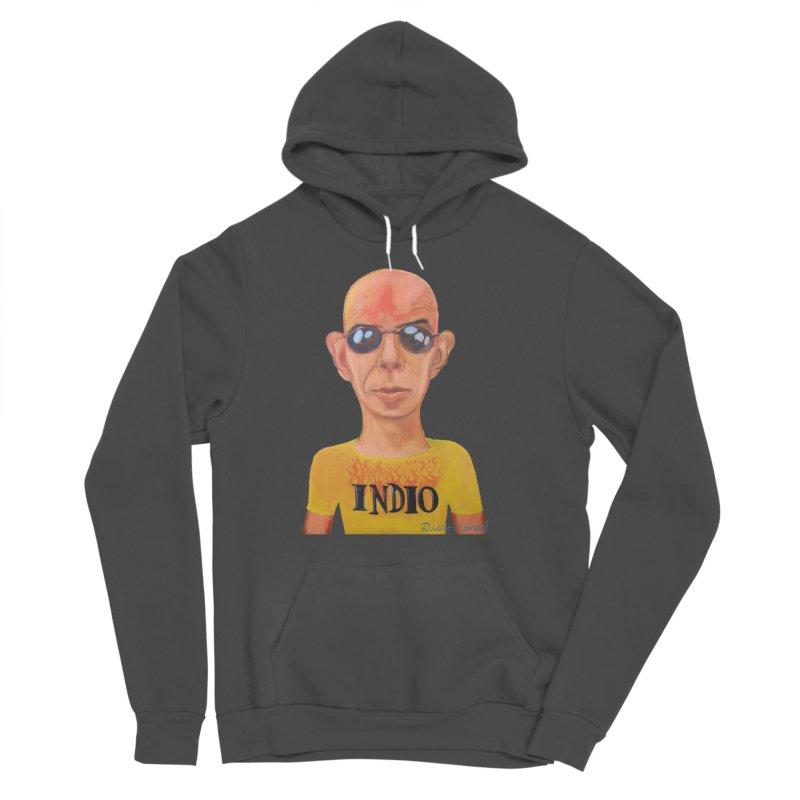 Indio rockstar Men's Sponge Fleece Pullover Hoody by diegomanuel's Artist Shop