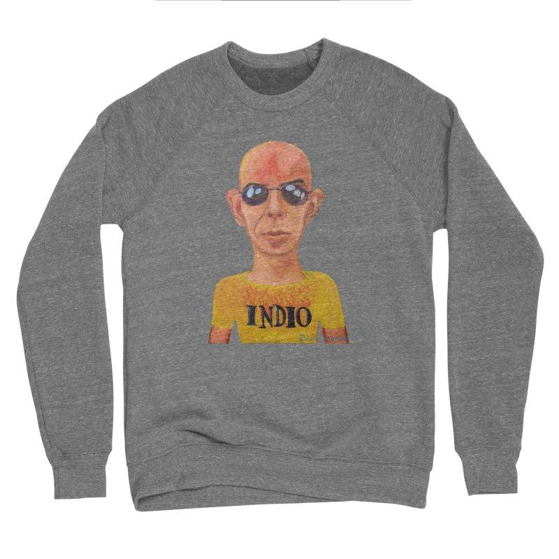 Indio rockstar Men's Sponge Fleece Sweatshirt by diegomanuel's Artist Shop