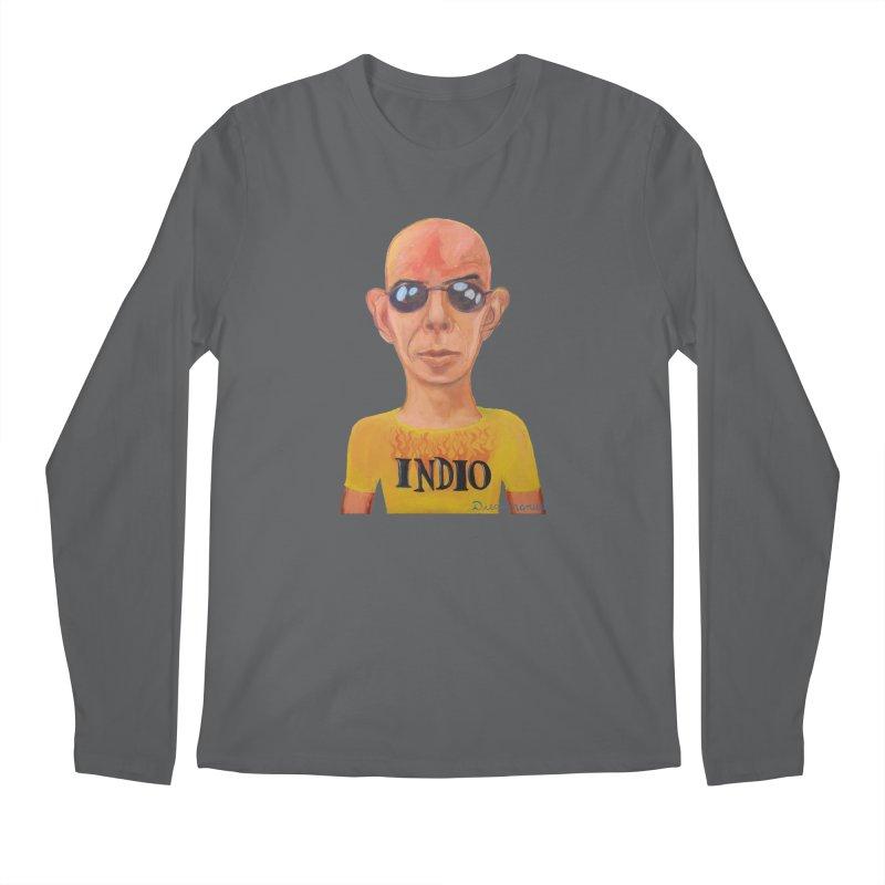 Indio rockstar Men's Longsleeve T-Shirt by diegomanuel's Artist Shop