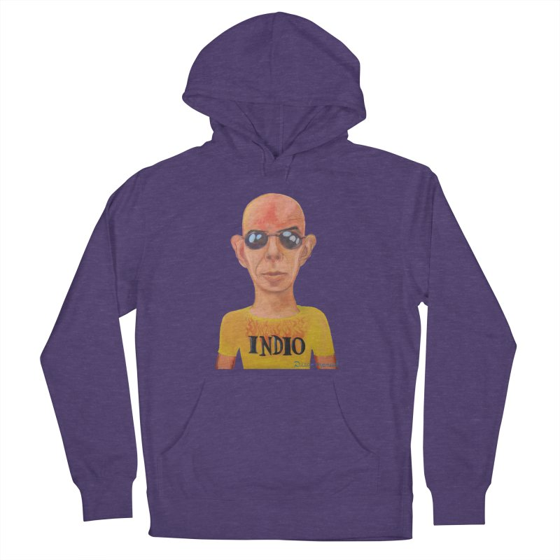 Indio rockstar Women's French Terry Pullover Hoody by diegomanuel's Artist Shop