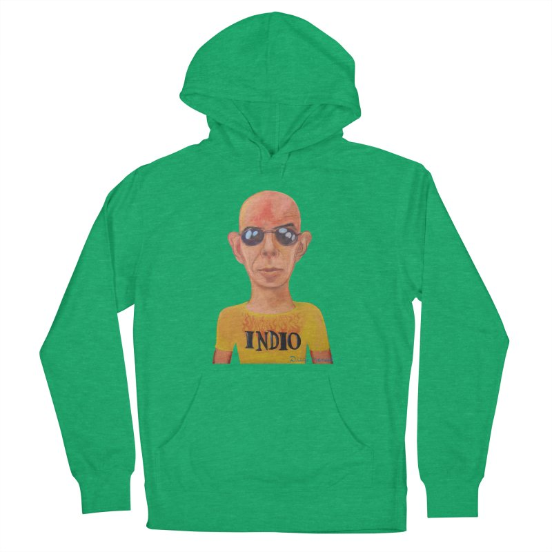 Indio rockstar Men's French Terry Pullover Hoody by diegomanuel's Artist Shop