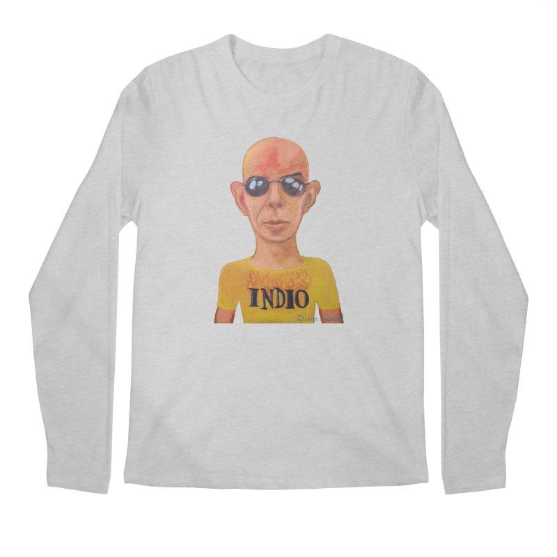 Indio rockstar Men's Longsleeve T-Shirt by Diego Manuel Rodriguez Artist Shop