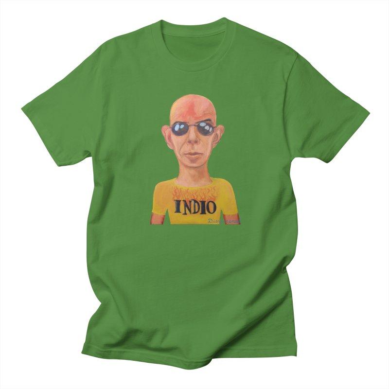 Indio rockstar Men's Regular T-Shirt by diegomanuel's Artist Shop