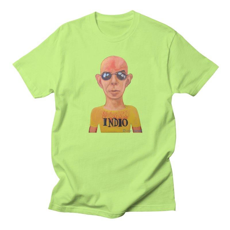 Indio rockstar Women's Regular Unisex T-Shirt by diegomanuel's Artist Shop