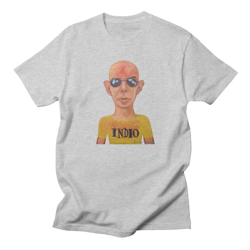 Indio rockstar Men's T-Shirt by Diego Manuel Rodriguez Artist Shop