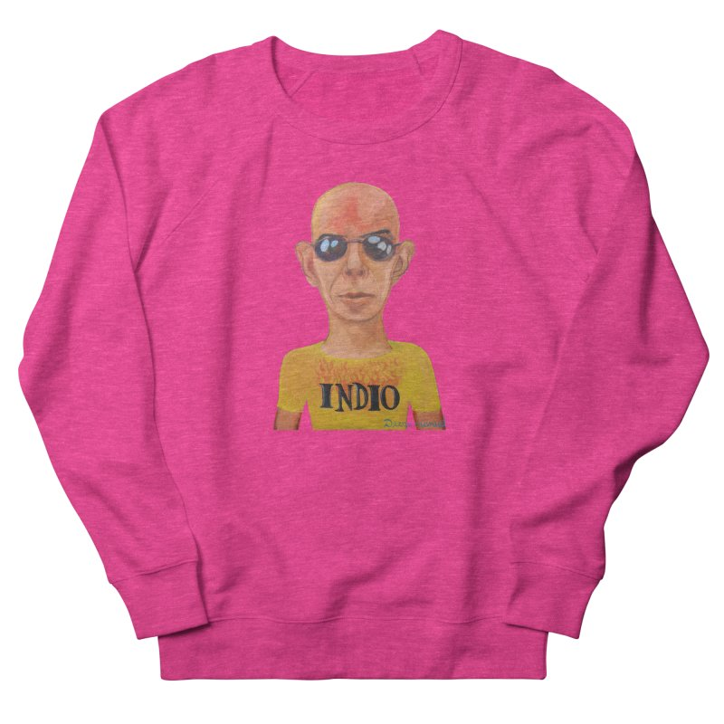 Indio rockstar Women's French Terry Sweatshirt by diegomanuel's Artist Shop