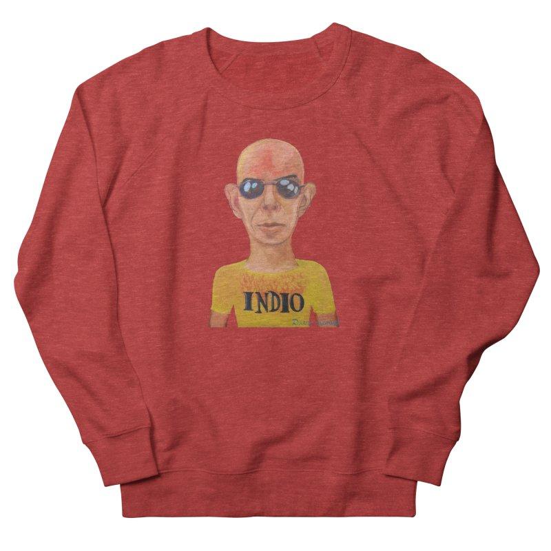 Indio rockstar Men's French Terry Sweatshirt by diegomanuel's Artist Shop