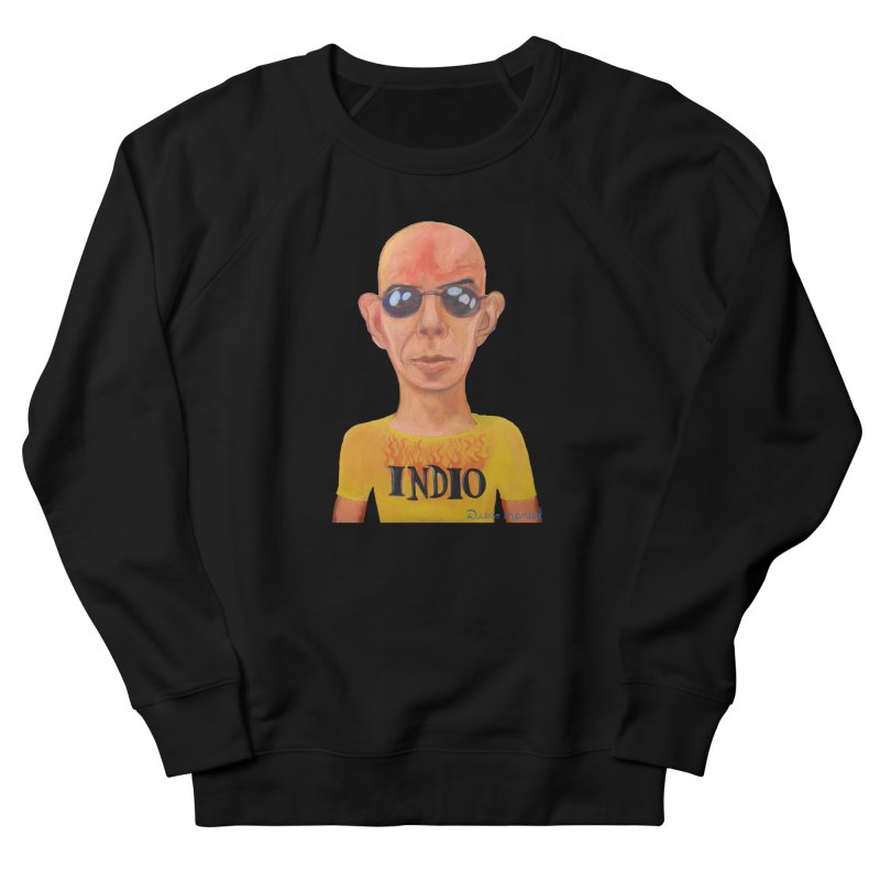 Indio rockstar Men's French Terry Sweatshirt by diegomanuel's Artist Shop