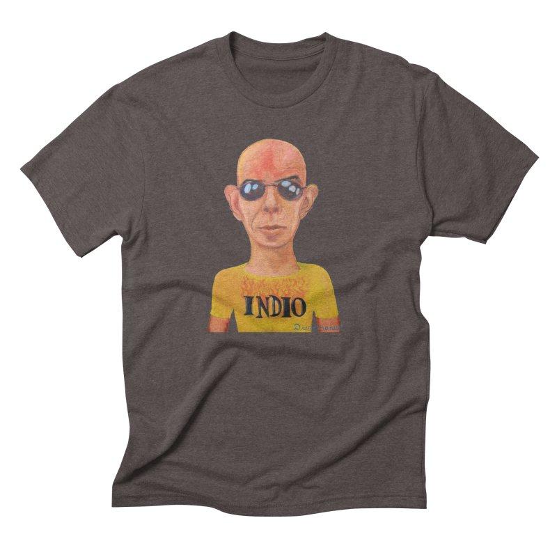 Indio rockstar Men's Triblend T-Shirt by diegomanuel's Artist Shop