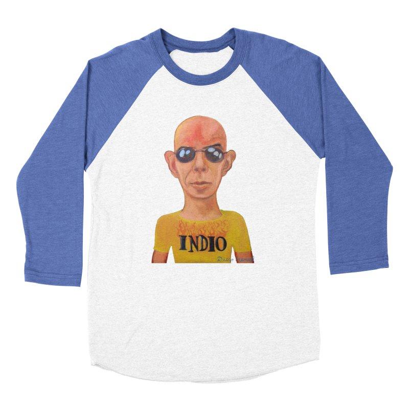 Indio rockstar Women's Baseball Triblend Longsleeve T-Shirt by diegomanuel's Artist Shop