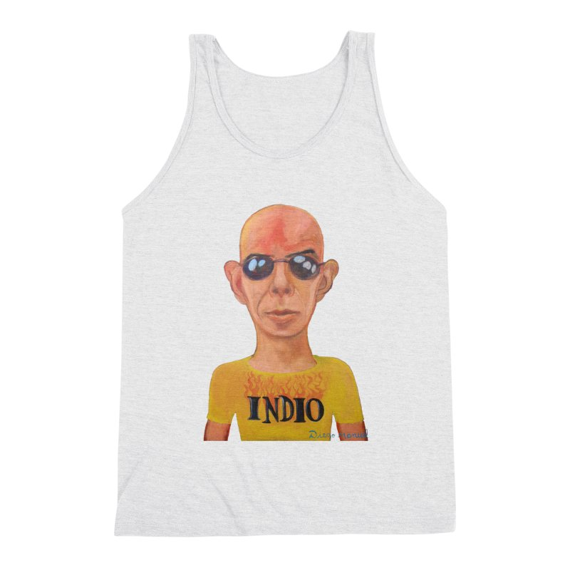 Indio rockstar Men's Triblend Tank by diegomanuel's Artist Shop