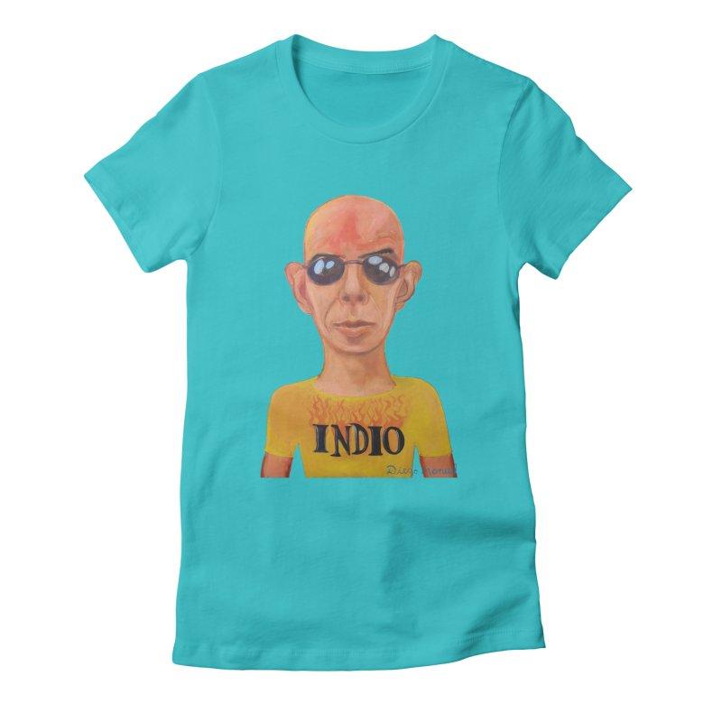 Indio rockstar Women's T-Shirt by Diego Manuel Rodriguez Artist Shop