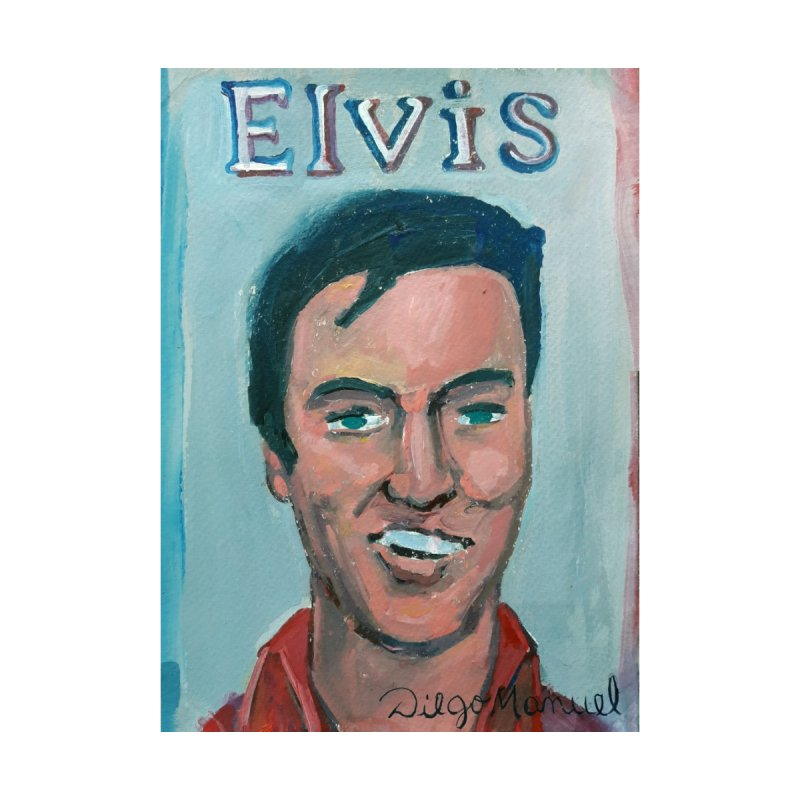 Elvis Rock Men's T-Shirt by Diego Manuel Rodriguez Artist Shop
