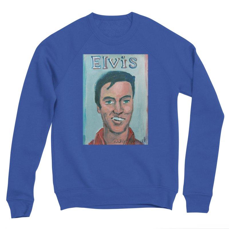 Elvis Rock Men's Sponge Fleece Sweatshirt by diegomanuel's Artist Shop