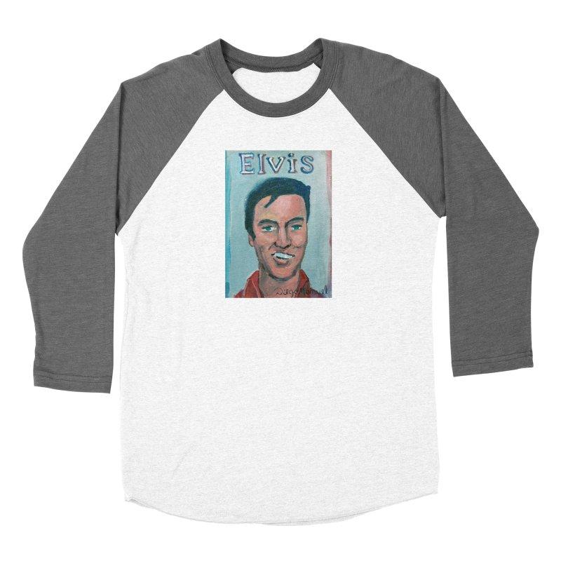 Elvis Rock Women's Longsleeve T-Shirt by Diego Manuel Rodriguez Artist Shop