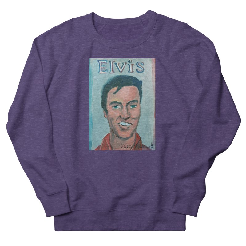 Elvis Rock Men's Sweatshirt by Diego Manuel Rodriguez Artist Shop
