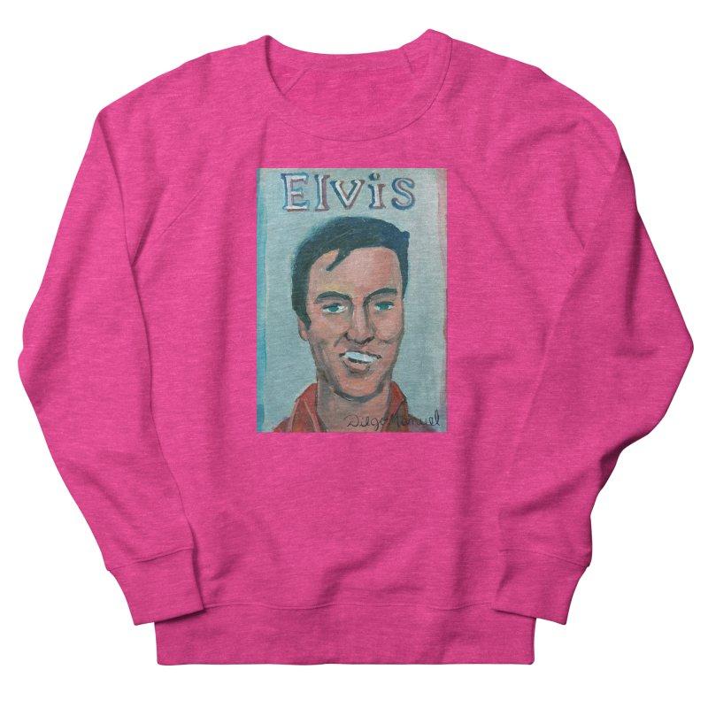 Elvis Rock Men's French Terry Sweatshirt by diegomanuel's Artist Shop