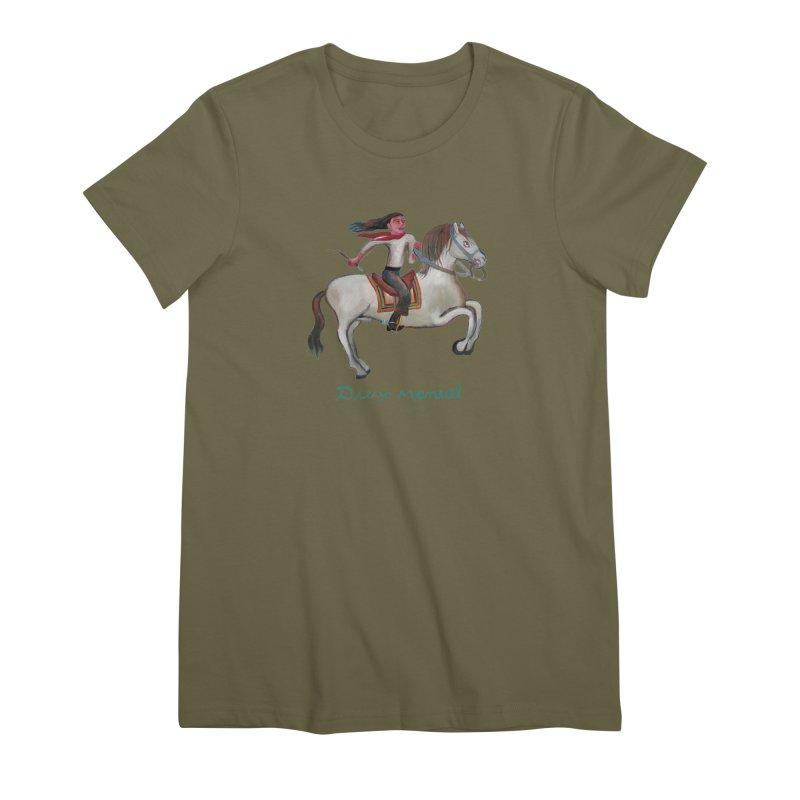 Gaucho rider Women's Premium T-Shirt by diegomanuel's Artist Shop