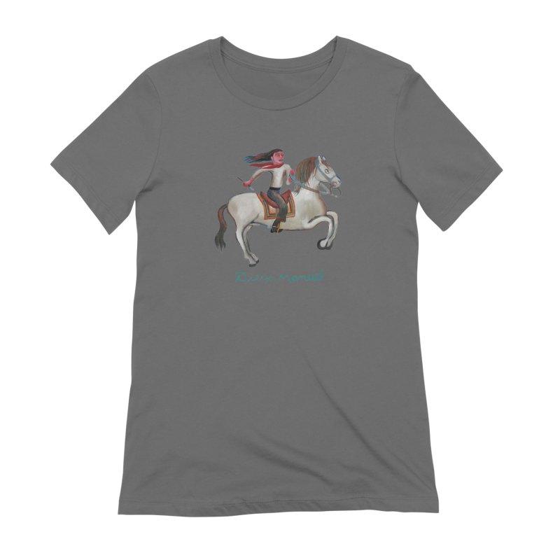 Gaucho rider Women's Extra Soft T-Shirt by diegomanuel's Artist Shop