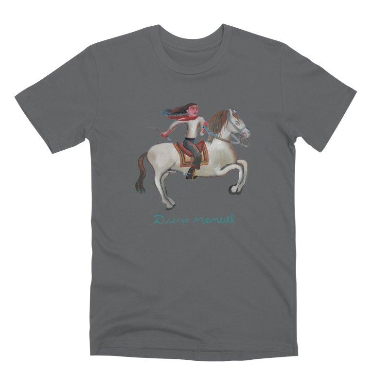 Gaucho rider Men's Premium T-Shirt by diegomanuel's Artist Shop
