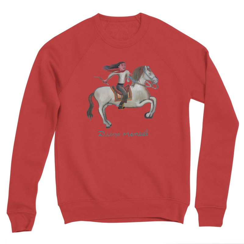 Gaucho rider Men's Sponge Fleece Sweatshirt by diegomanuel's Artist Shop