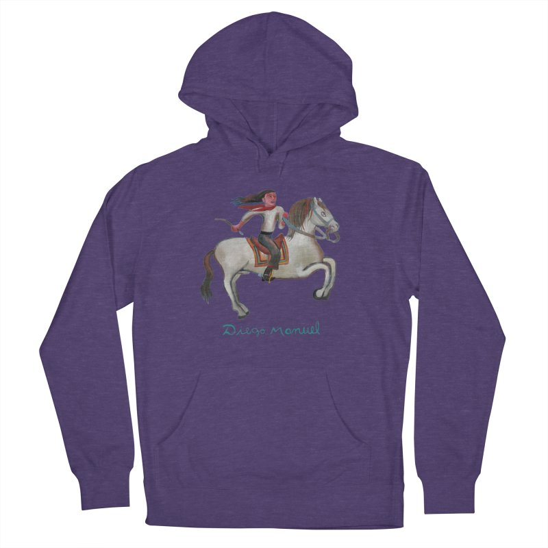 Gaucho rider Women's French Terry Pullover Hoody by diegomanuel's Artist Shop