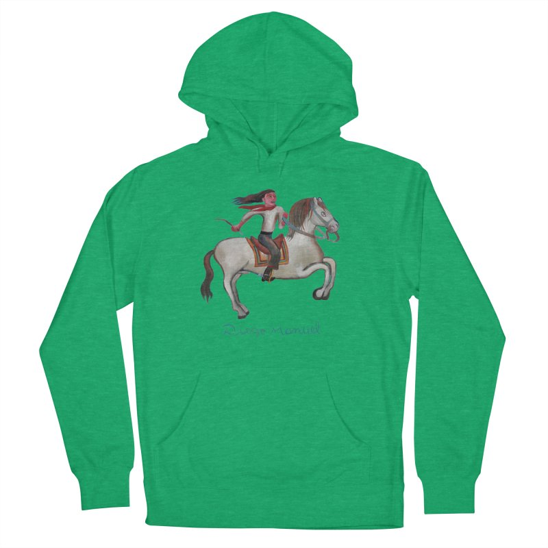 Gaucho rider Men's French Terry Pullover Hoody by diegomanuel's Artist Shop