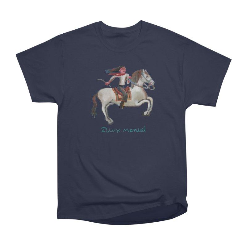 Gaucho rider Women's Heavyweight Unisex T-Shirt by diegomanuel's Artist Shop