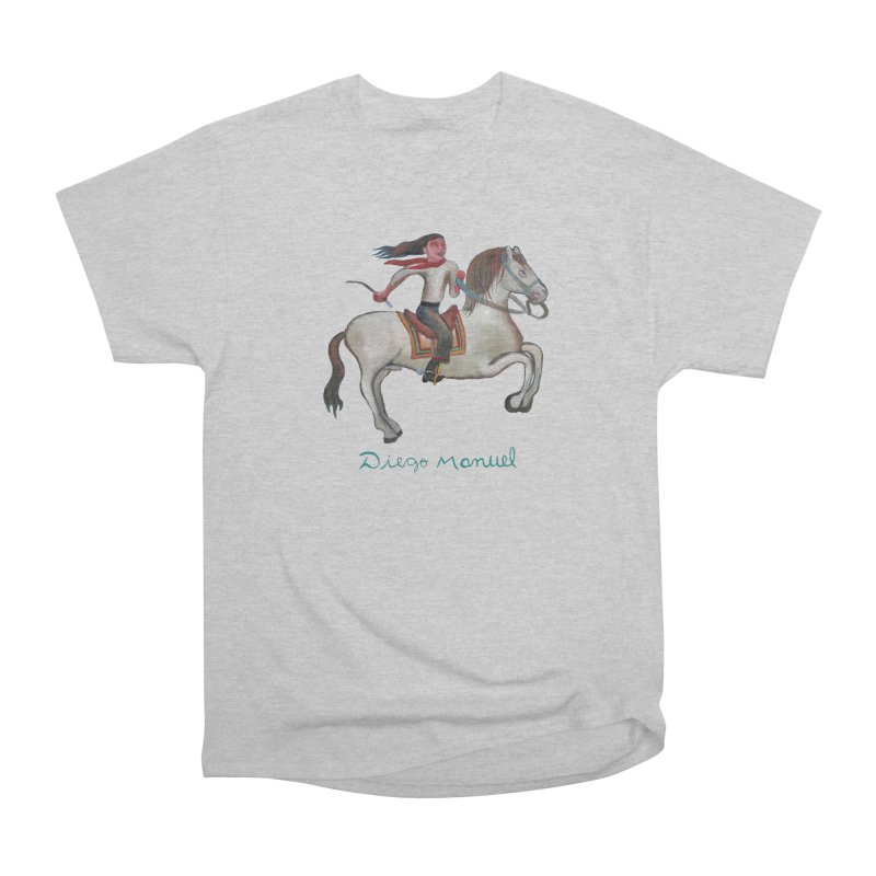 Gaucho rider Women's Heavyweight Unisex T-Shirt by diegomanuel's Artist Shop