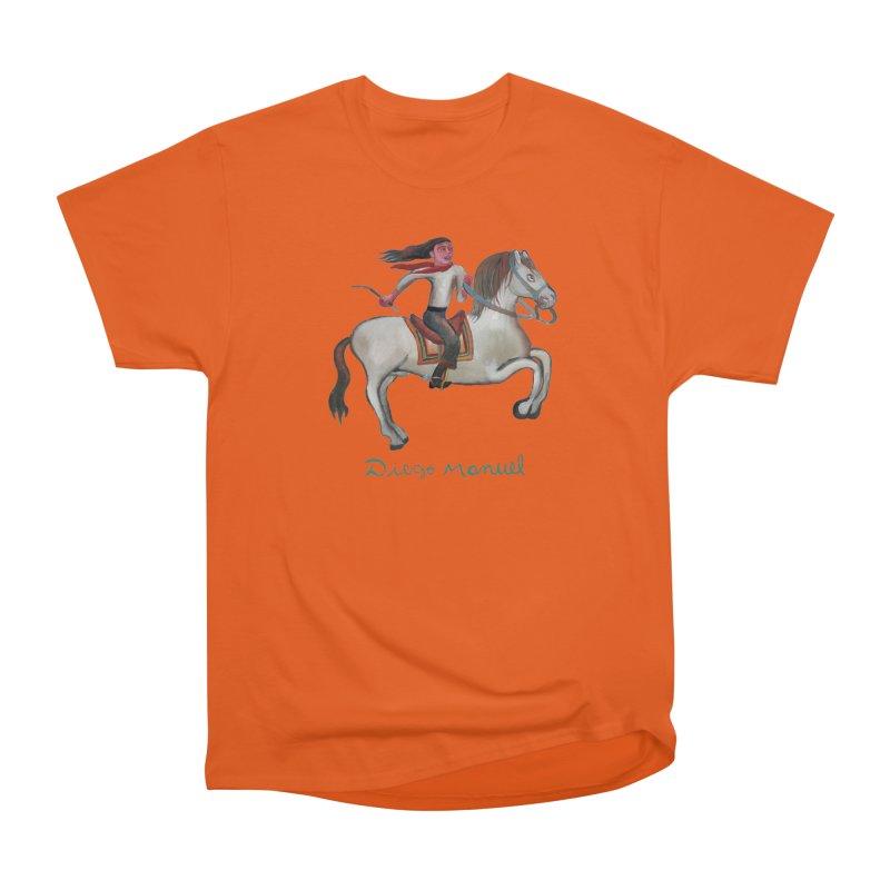 Gaucho rider Men's Heavyweight T-Shirt by diegomanuel's Artist Shop
