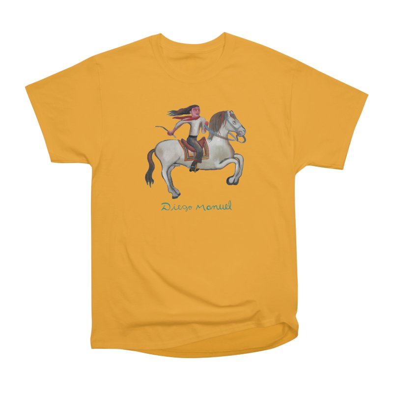 Gaucho rider Men's Heavyweight T-Shirt by diegomanuel's Artist Shop