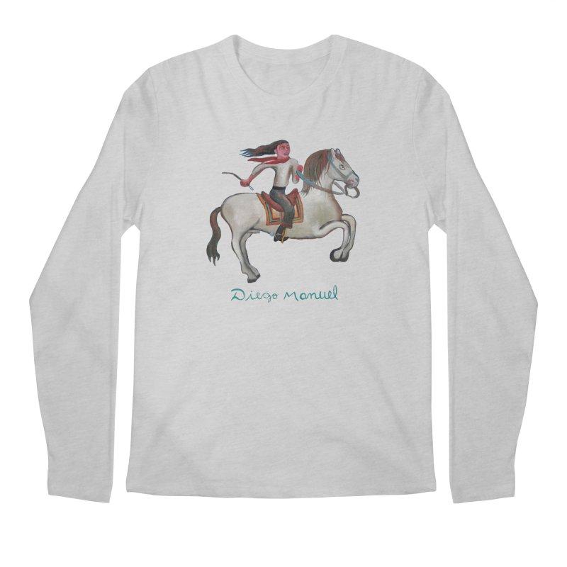 Gaucho rider Men's Regular Longsleeve T-Shirt by diegomanuel's Artist Shop