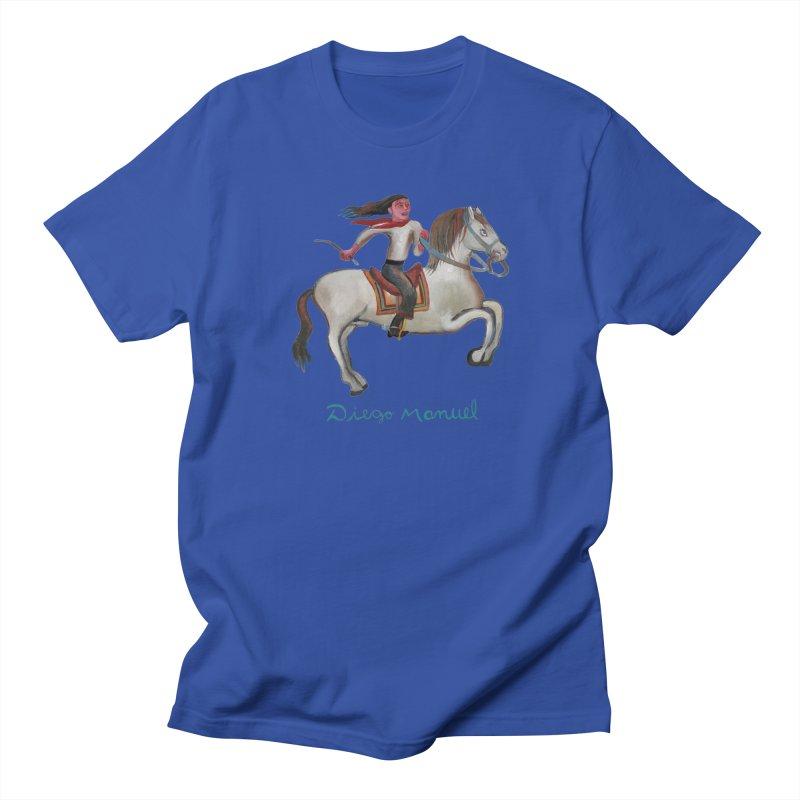 Gaucho rider Men's Regular T-Shirt by diegomanuel's Artist Shop