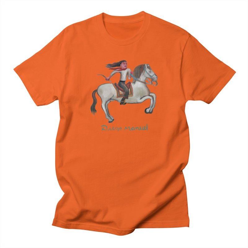 Gaucho rider Men's T-Shirt by Diego Manuel Rodriguez Artist Shop