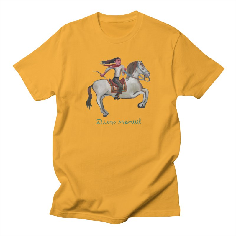 Gaucho rider Men's Regular T-Shirt by diegomanuel's Artist Shop
