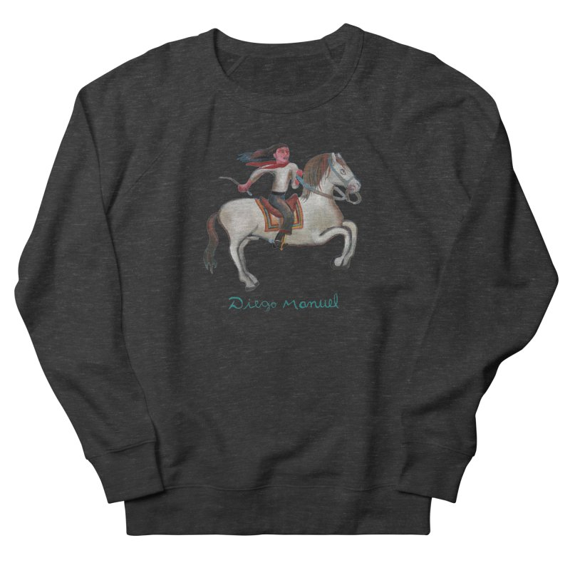Gaucho rider Women's French Terry Sweatshirt by diegomanuel's Artist Shop