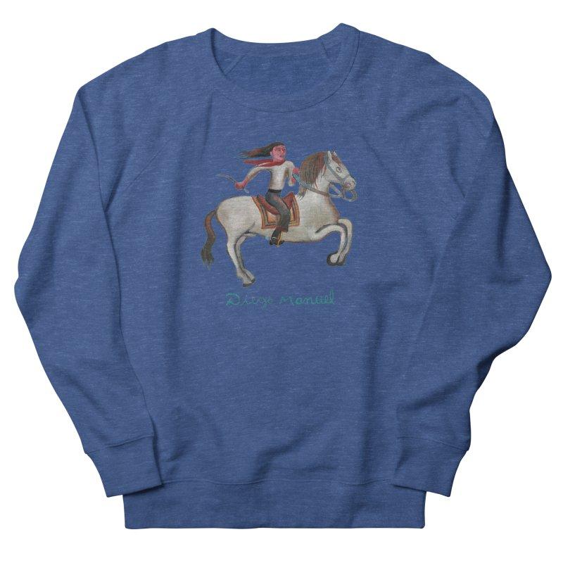 Gaucho rider Women's French Terry Sweatshirt by diegomanuel's Artist Shop