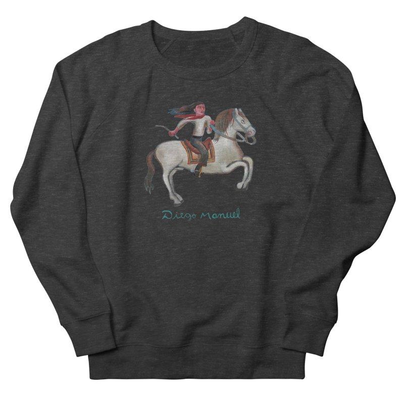 Gaucho rider Men's French Terry Sweatshirt by diegomanuel's Artist Shop