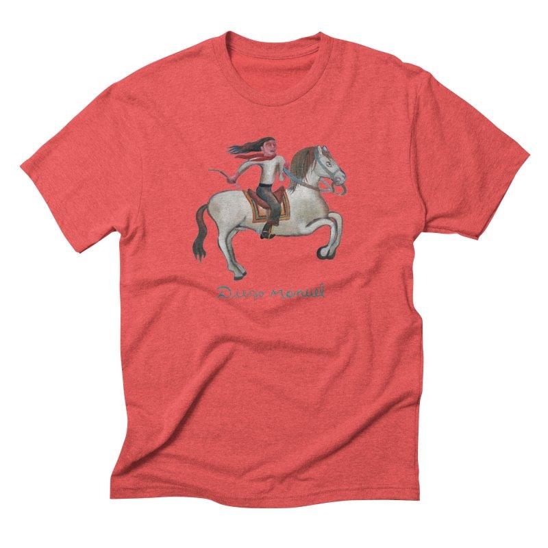Gaucho rider Men's Triblend T-Shirt by diegomanuel's Artist Shop