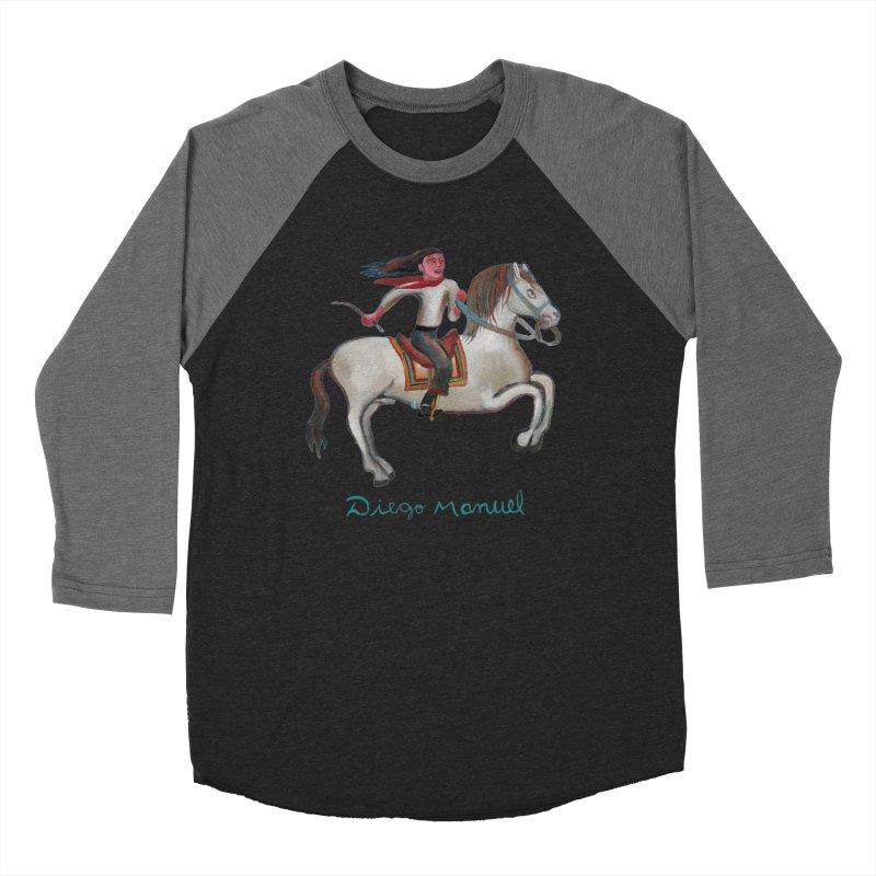 Gaucho rider Women's Baseball Triblend Longsleeve T-Shirt by diegomanuel's Artist Shop