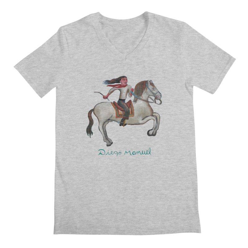 Gaucho rider Men's Regular V-Neck by diegomanuel's Artist Shop