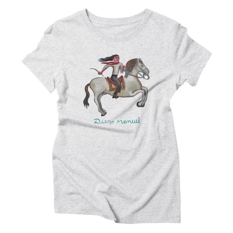 Gaucho rider Women's T-Shirt by Diego Manuel Rodriguez Artist Shop
