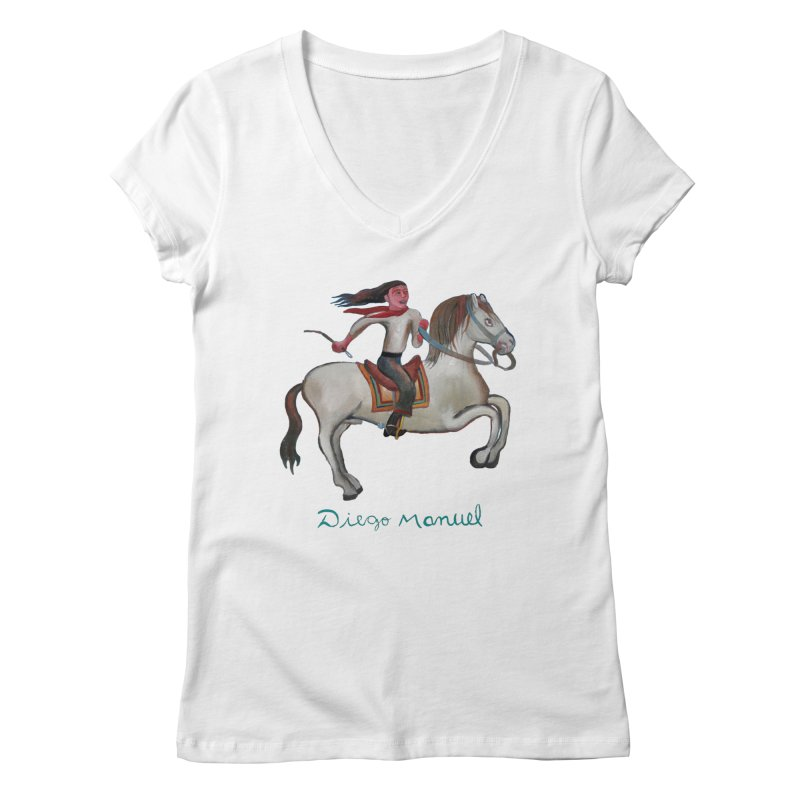 Gaucho rider Women's Regular V-Neck by diegomanuel's Artist Shop