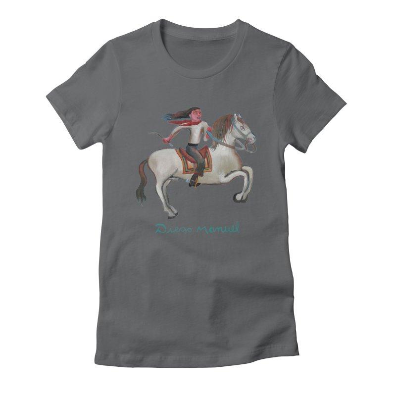 Gaucho rider Women's Fitted T-Shirt by diegomanuel's Artist Shop