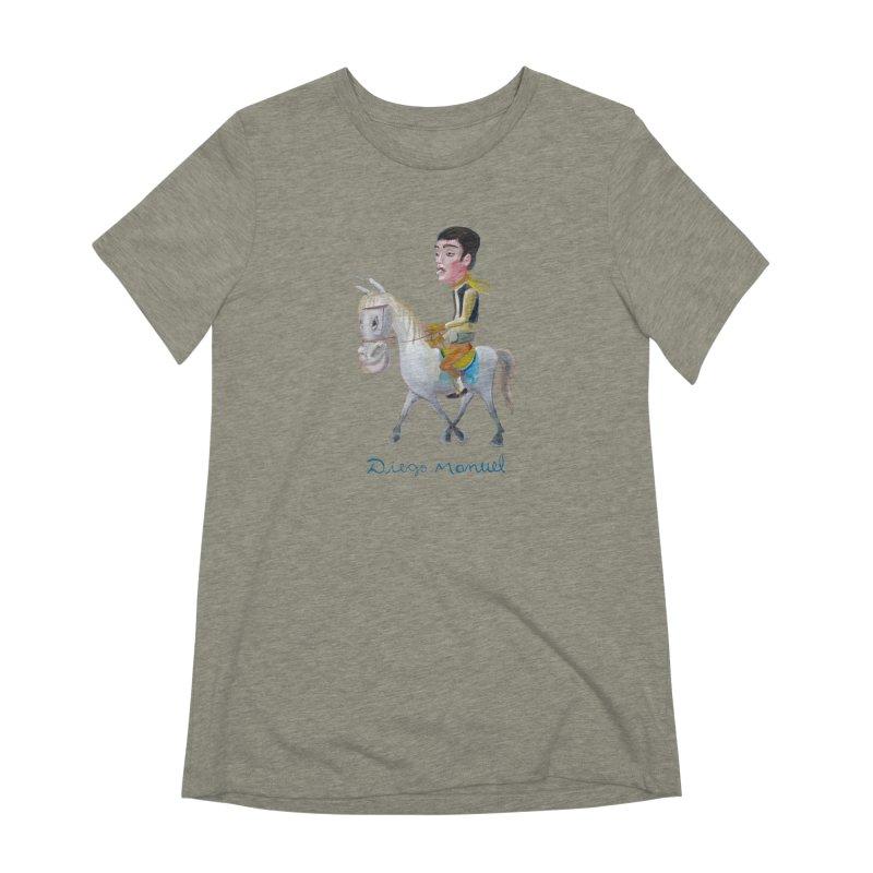 Gaucho Women's Extra Soft T-Shirt by diegomanuel's Artist Shop