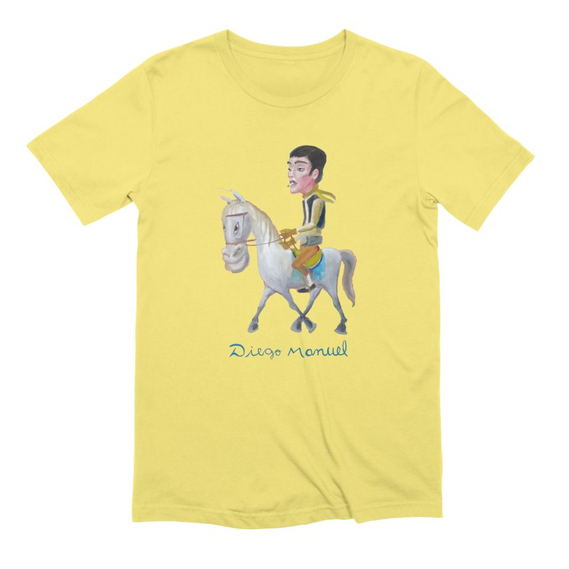 Gaucho Men's Extra Soft T-Shirt by diegomanuel's Artist Shop
