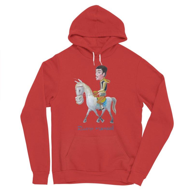 Gaucho Men's Sponge Fleece Pullover Hoody by diegomanuel's Artist Shop