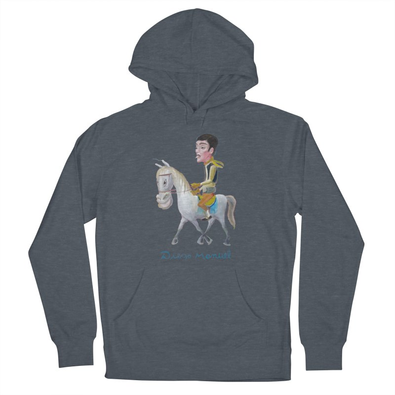 Gaucho Men's French Terry Pullover Hoody by diegomanuel's Artist Shop