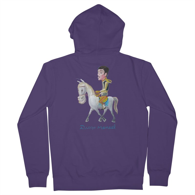 Gaucho Women's Zip-Up Hoody by Diego Manuel Rodriguez Artist Shop
